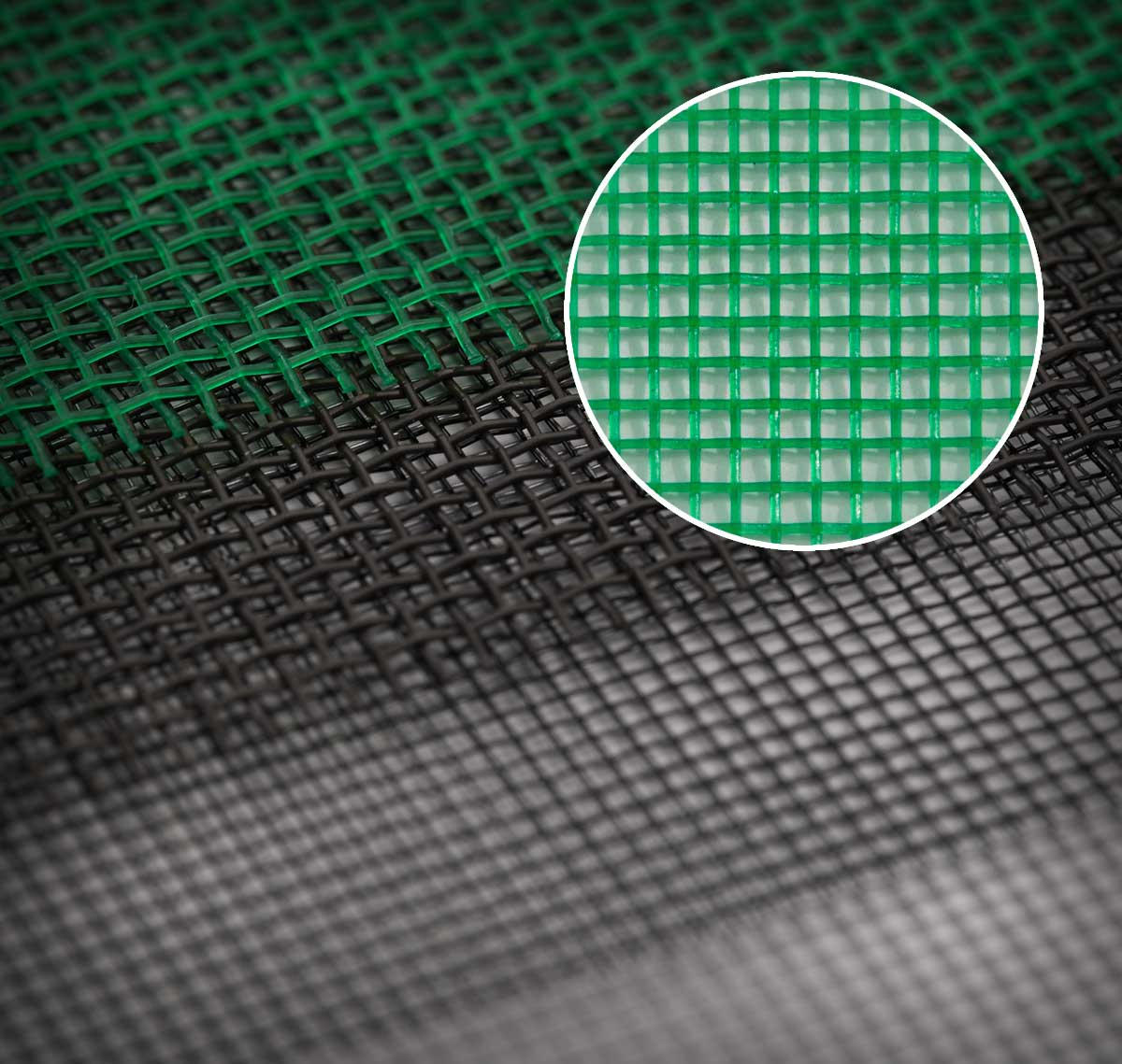 Hdpe window screen mesh green jiten plastics pleated for Window mesh screen
